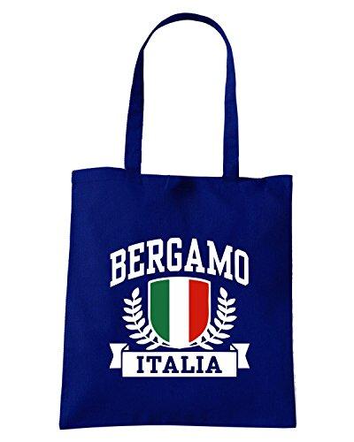 T-Shirtshock - Borsa Shopping TSTEM0103 bergamo italia tshirt Blu Navy