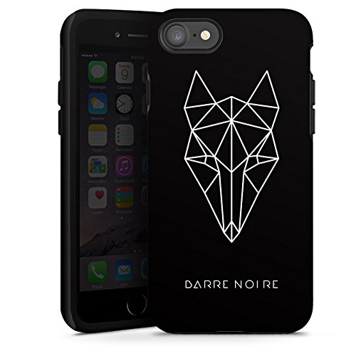 Apple iPhone X Silikon Hülle Case Schutzhülle Fuchs Fox Muster Tough Case glänzend