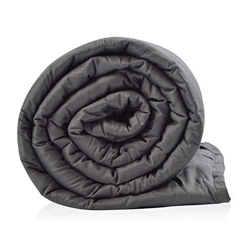 vendome Therapiedecke Gravitas Sleep, Gewichtsdecke für Erwachsene, 6,5kg schwere Bettdecke 135x200cm, Weighted Blanket 100% Baumwolle