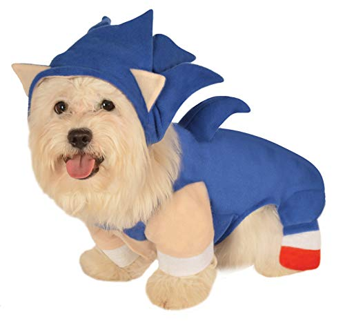 Sonic The Hedgehog Pet Costume in 4 Sizes