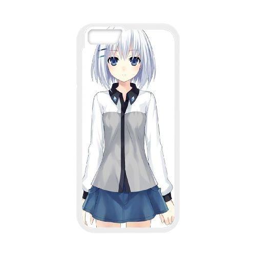 Date A Live coque iPhone 6 4.7 Inch Housse Blanc téléphone portable couverture de cas coque EBDXJKNBO14332