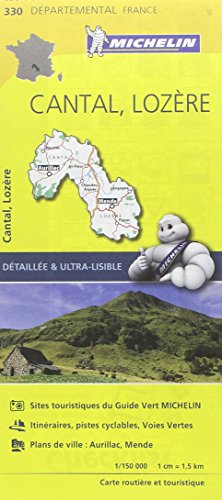 Descargar Libro Carte Cantal, Lozère Michelin de Collectif Michelin