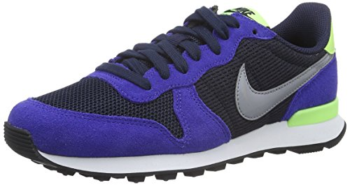 Nike Wmns Internationalist, Scarpe da Corsa Donna Multicolore (Obsdn/Stlth/Dp Nght/Ghst Grn)