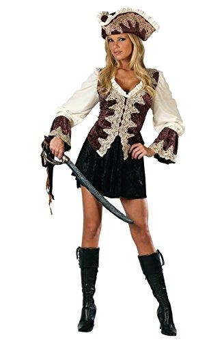 Sexy royal Piraten Lady Halloween Karneval Kostüm