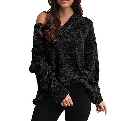 Dorical Strickpullover Damen Herbst Winter Warm Khaki Blau Schwarz Grün Rot Dicke Pullover Outwear Sweater Lose Hochwertige Schicke Sexy Elegante Günstige kaufen Online Shop Sale