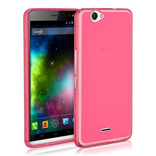 kwmobile Wiko Getaway Hülle - Handyhülle für Wiko Getaway - Handy Case in Pink