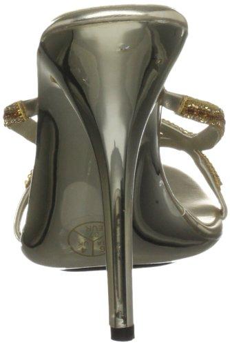 Unze Evening Sandals, Sandali donna Oro (Gold (L18863W))