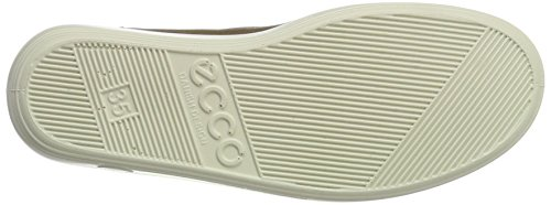 Ecco Damen Soft 2.0 Brogues Grau (Warm Grey)