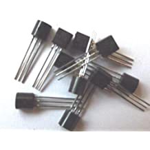 On Semi Bc547B Bc547 Transistor, Gp, Bjt, Npn, 45 V, 0,1 A, 3 pines, To-92, 10 unidades