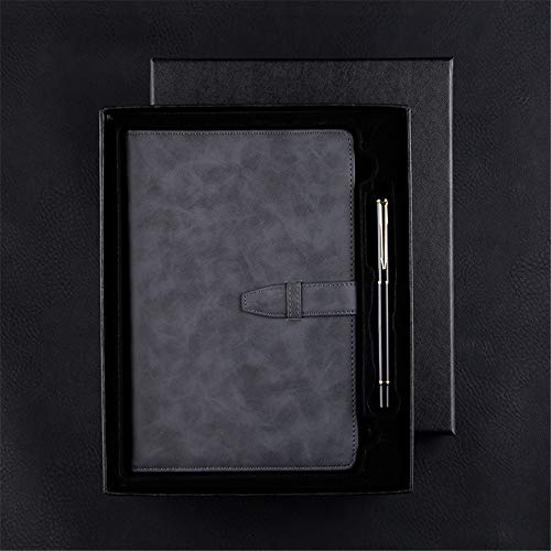Retro-Notizbuch aus weichem Leder - A5 Hardcover-Notizbuch - mit Lederschnalle ausgekleidetes Tagebuch 15X22CM - Umschläge, E-mail Kunststoff