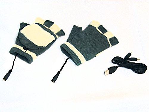 USB de guantes calefactables calentador de mano de zapatos de calefacc