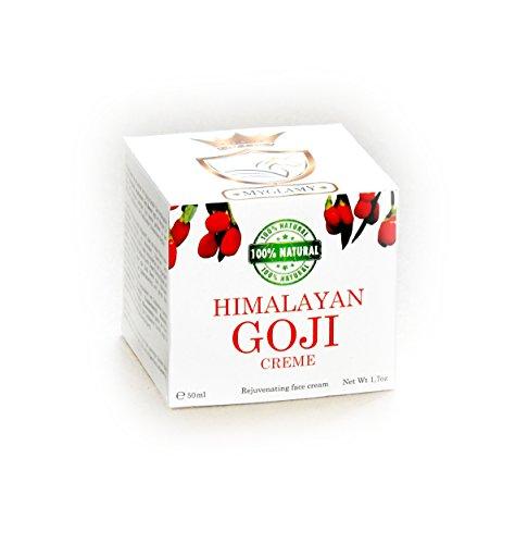 3x -310- DELUXE Himalaya 100% Natur GOJI-BEEREN Superfood Creme Gesichtscreme 50 ml + 3x Gratis Gesichtsmaske Black Head NEU
