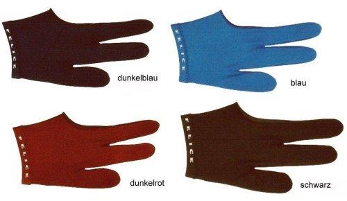 "Billard-Handschuh ""FELICE"", dunkelblau, beidhändig"