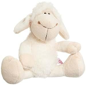Nici 35770 - Dress your Friends - Schaf aus Plüsch, Schlenker, 25 cm, weiß