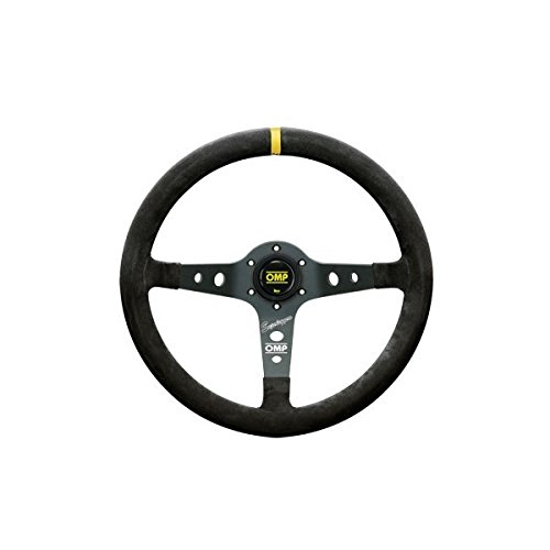 OMP OMPOD/2021/N Volante, Negro, Diámetro 350 mm