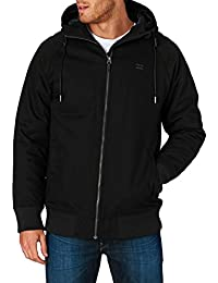 2016 Billabong All Day Canvas Jacket BLACK Z1JK10