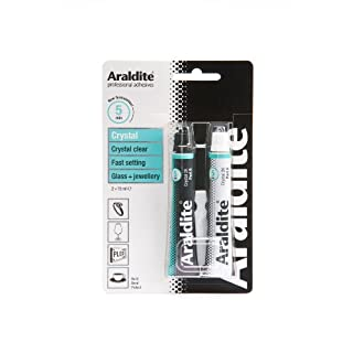 Araldite 2-Tubes Crystal Epoxy, 15 ml