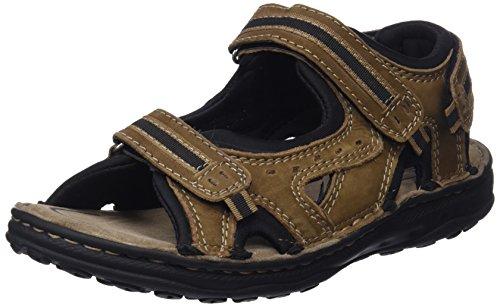 Zerimar sandali da uomo | sandali da trekking da uomo | sandals man hiking | sandali di cuoio da uomo | sandali estivi da uomo | colore moka taglia 41