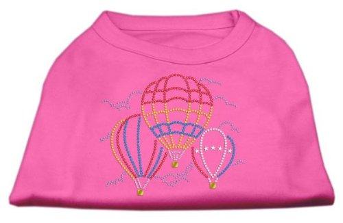 Mirage Tier-Shirt, Motiv Heißluftballons, Strass-Steine -