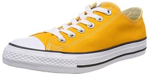 Converse Unisex-Erwachsene CTAS Ox Orange Ray Sneaker, Gelb (Orange Ray), 39 EU