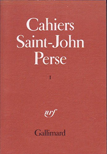 Cahiers Saint-John Perse