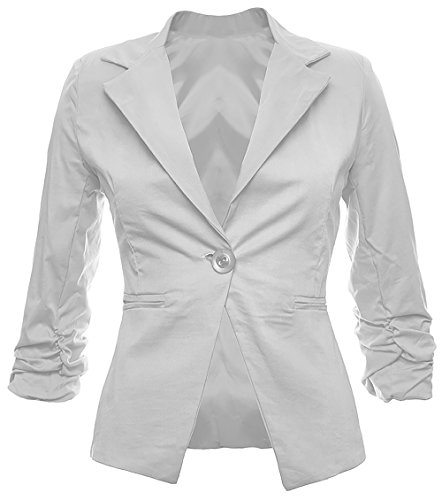 Chaquetas Blazer de Mujer Americanas Elegante Algodón Oficina Fiesta Casual Look disponible en 26 colores 34 36 38 40 42