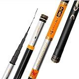 YROD Angelrute, Super Hard Lange Anti-Wicklung Starke Qualität Flexible Durable Carbon Carp Pole Angelgerät (größe : 14m/551inch)
