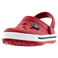 Beppi Clogs - Children & Womens Comfortable Sandal Shoes - for House and Outdoor Use Red