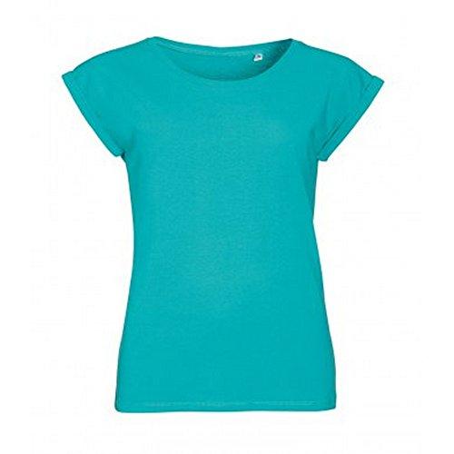 SOLS Melba - T-shirt à manches courtes - Femme Denim