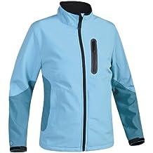 SALEWA, Giacca Donna Caia Lite Sw W Jacket, Colore Turchese (Turquoise/3320p.0700), Taglia (IT/DE) 46/40