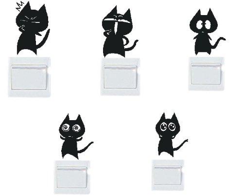 adesivi-vinile-decorativo-wall-decor-sticker-per-spina-e-interruttore-20-colori-di-scegliere-5-gatto