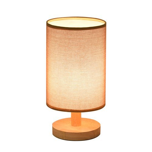 Schlafzimmer Nachttischlampe Wohnheim Zimmer Leselampe Warm Modern Minimalist Ideas Woody Tisch Sackleinen Lampe