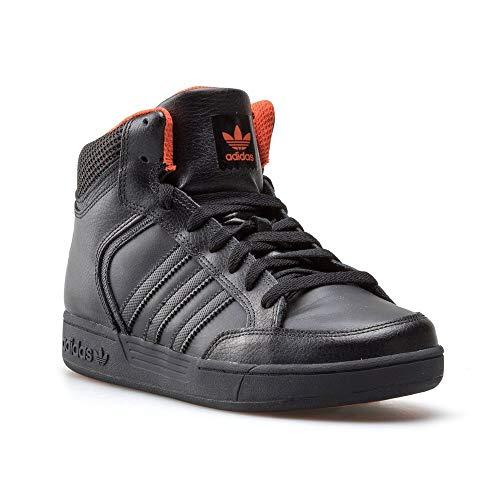 adidas Unisex-Kinder Varial Mid J Skateboardschuhe, Mehrfarbig Negbas/Narnat, 40 EU