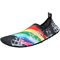 Kivors Unisex Zapatos de Agua Descalzo Zapatos de Playa Suave Calcetines de Buceo Secado Rápido Natación para Natación, Buceo, Surf, Yoga,voleibol de playa y Caminar en la Playa