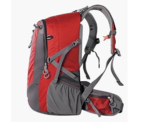ROBAG Outdoor-Tasche Schulter Klettern neue 2016 für Männer und Frauen-Tourismus Wanderrucksack Rucksack 40 l red