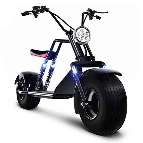 Harley Two Elektroroller Scooter Chopper - 1500 Watt Motor - Straßenzulassung - 2-Sitzer - bis zu 45 km/h - E-Scooter