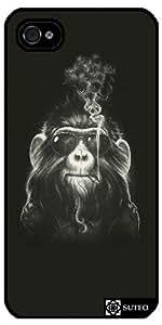 Coque Iphone 5/5S – Smoking Monkey - ref 797