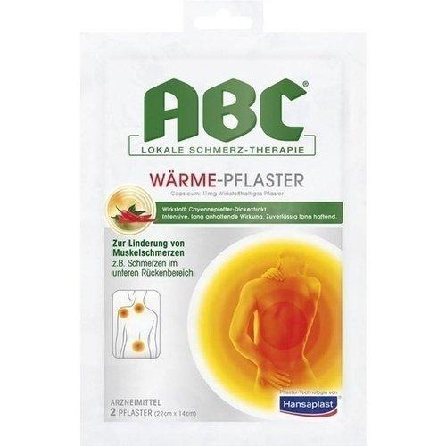 ABC Wärme-Pflaster Capsicum, 2 St. - 2