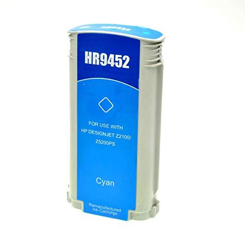 Logic-Seek Tintenpatrone kompatibel für HP 70 C9452A, 220 ml, cyan -