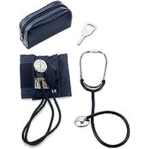 Primacare DS-9196 - Kit de tensiómetro de brazo (tamaño grande) y estetoscopio