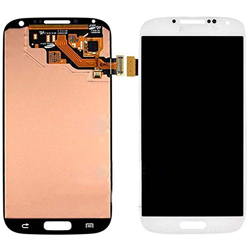 Samsung Galaxy S4 i9500 I545 M919 White Touch Screen LCD Assembly Panel + Digitizer(Complete Package)  available at amazon for Rs.13340