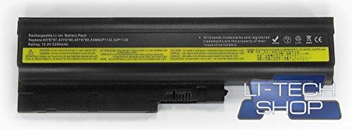 batterie-compatible-5200-mah-pour-ibm-lenovo-think-pad-z61-m-0675-axa-6-cellules-57-wh