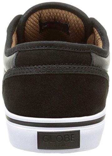 Globe Motley, Chaussures de Skateboard Homme Noir (Black/Toffee)