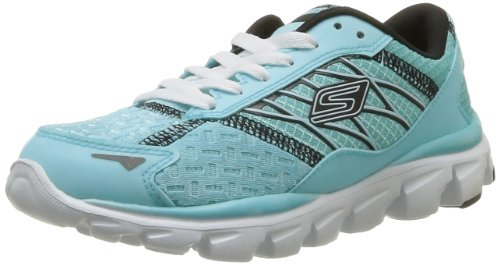 Skechers Go Run Ride Nite Owl, Chaussures de running fille Bleu (Aqbk)