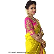 Bollywood Indian Designer Party Wear Saree with Yellow Color 63c56f2697a