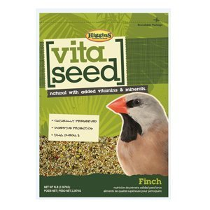Higgins Nederland's Vita Seed Bird Food - Finch 5 lb by Higgins (Seed Finch Vita)