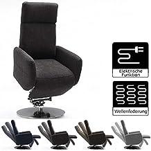 Chefsessel Kent Braun//Schwarz,bis 130kg belastbar Bürostuhl Drehstuhl Sessel