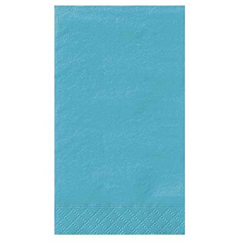 Paper Guest Napkins Teal 20 Count