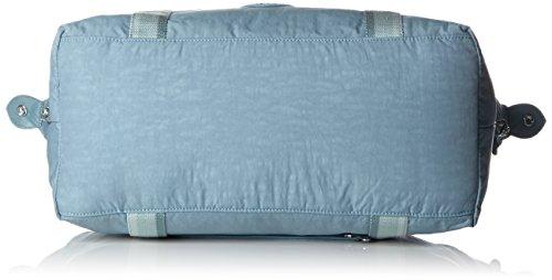 Kipling - ART M - Borsa da viaggio media - Black - (Nero) Blu (Pastel Blue C)