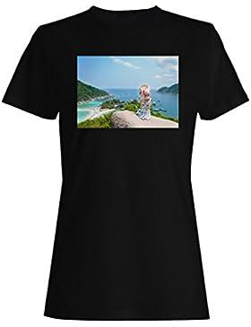 Koh samui playa vacaciones viajes el mundo camiseta de las mujeres b427f